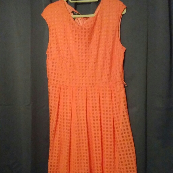 Alfani Dresses Coral Sleeveless Plus Size Dress Poshmark